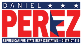 Daniel Perez for State Representative Mobile Logo